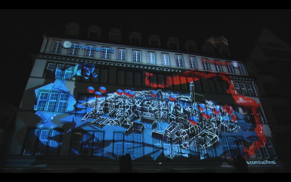 3d projection due to laser scanning laserscanning europe