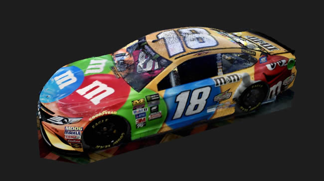Kyle Busch´s Toyota Camry racing car - 3D model captured with DotProduct DIP-8X