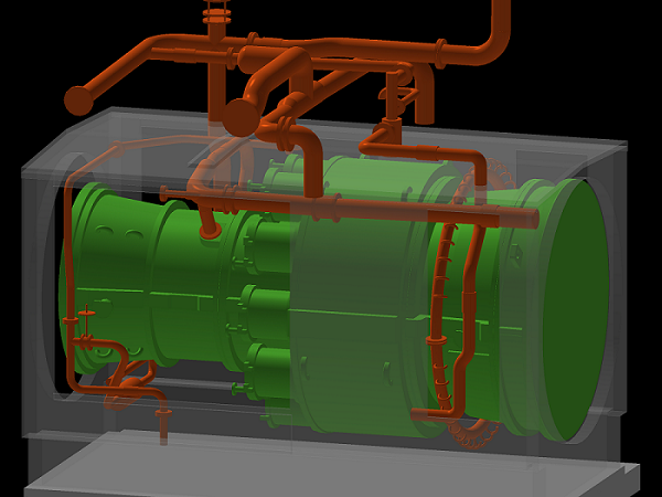 Survey of a gas turbine for energy optimisation and