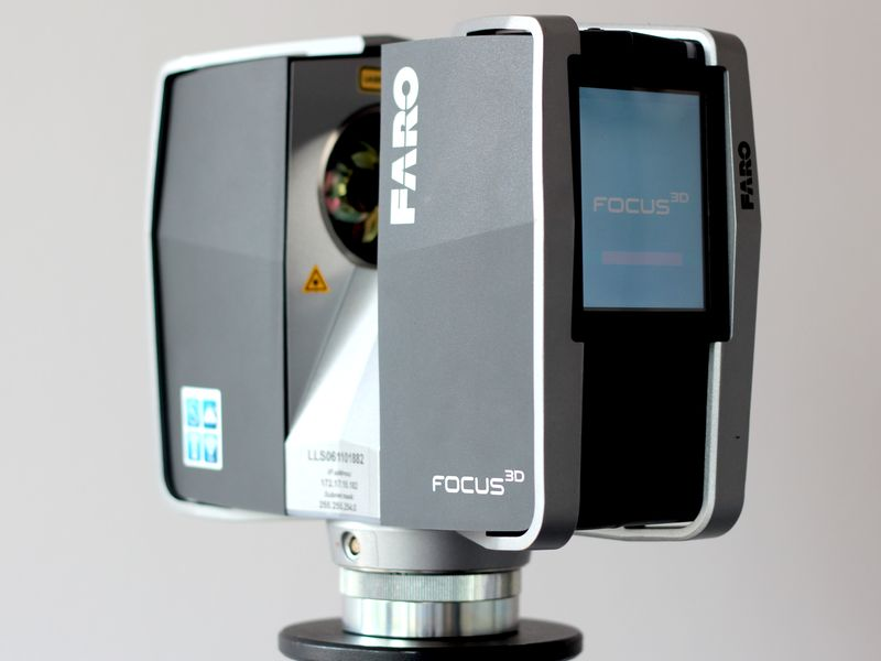 connect faro focus 3d laser scanner with ios systems via. Black Bedroom Furniture Sets. Home Design Ideas