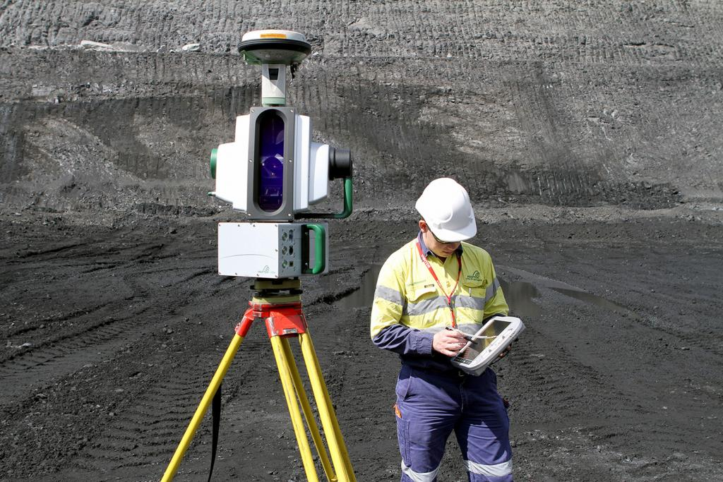 Maptek releases new mining tough laser survey technology 3d site