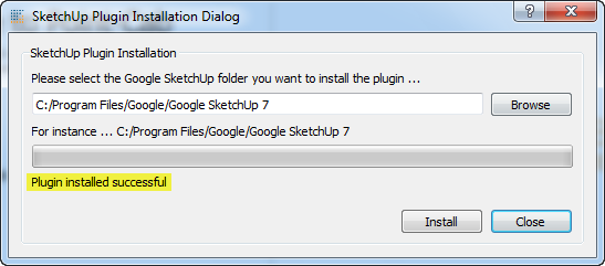 Make Faces Google Sketchup Plugin