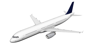 3D model of Airbus A321. Source: Lufthansa.