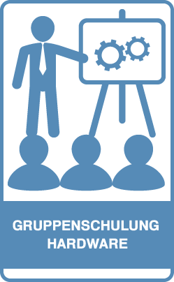 Button: Gruppenschulung Hardware