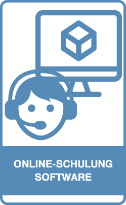 Button: Online-Schulung Software