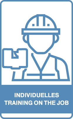 Button: Individuelles Training on the job