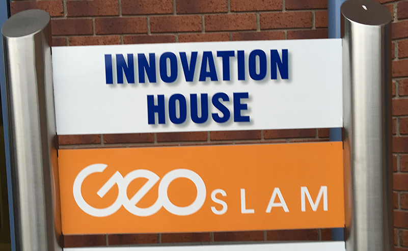 GeoSLAM Büros im Innovation House in Nottingham.